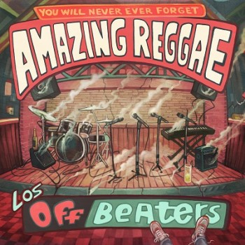 Los Offbeaters - Amazing Reggae - Front