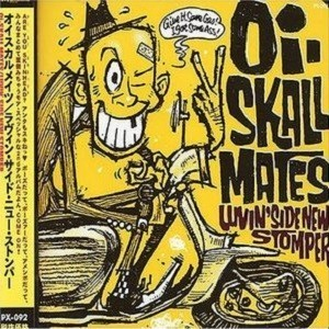 oi skall mates - luvin side stomper - front