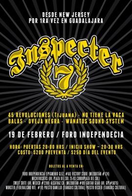 Inspecter 7 -Guadalajara 2016