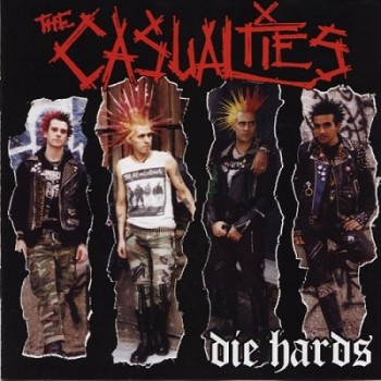 The Casualties - Die hards - Front
