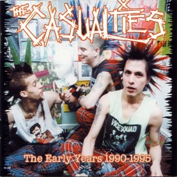 The Casualties - Early years - front