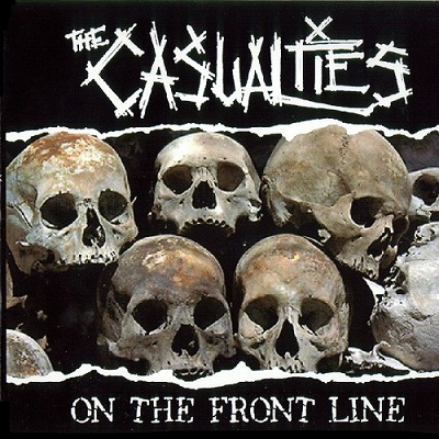 The Casualties-On the front line - front