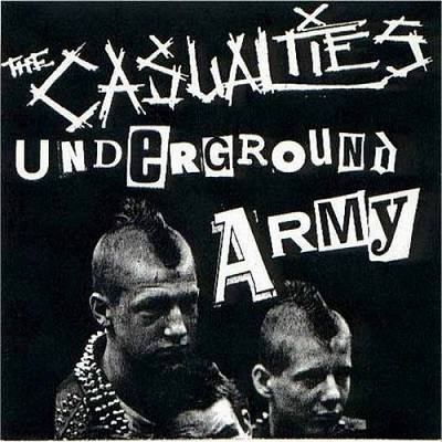 The Casualties - Underground Army - Front