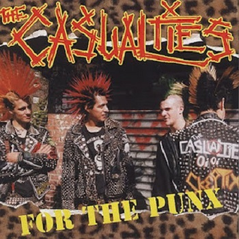 The Casualties - for The Punx - Front