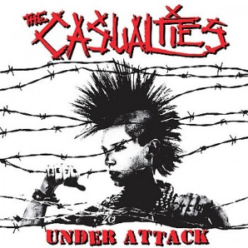 The Casualties - under attack - front