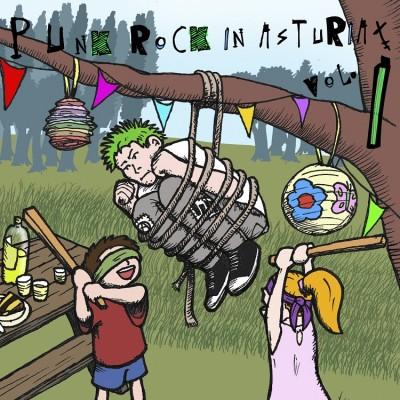 VA - 2014 - Punk Rock in Asturiax Vol. I