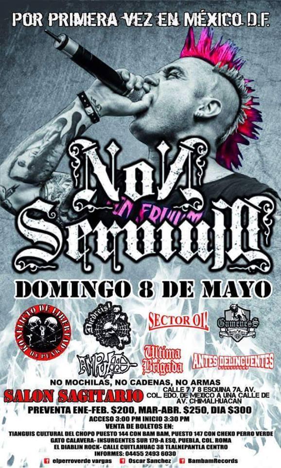 Non Servium - Domingo 8 de Mayo 2016