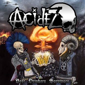acidez - beer drinkers survivors - Front