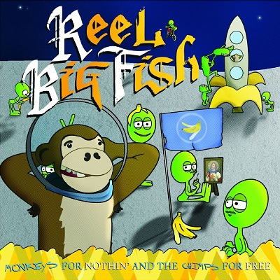 Reel Big Fish - monkeys for nothin - Front