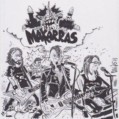 Los Makarras - 2017 - Ke tiemble la tierra